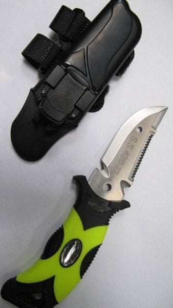 DIVEMARINE Nůž - s pouzdrem na hadici