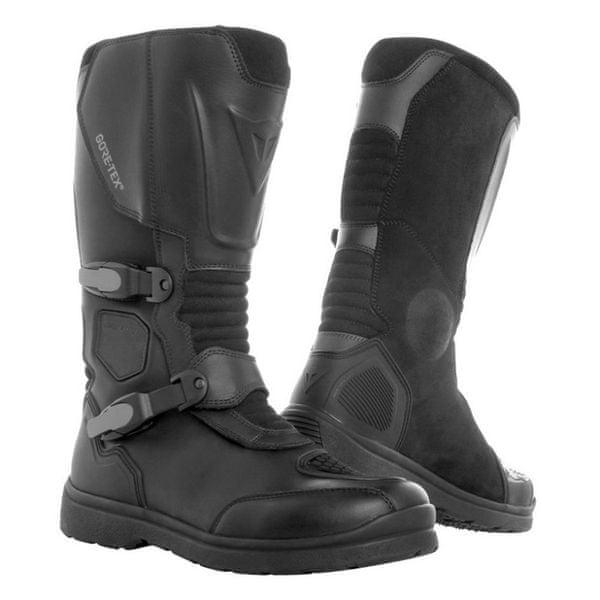 Dainese boty CENTAURI GORE-TEX vel.47 černá, kůže (přezka)
