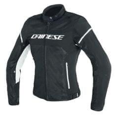 Dainese dámska letná moto bunda  AIR-FRAME D1 LADY TEX čierna/biela, textilná