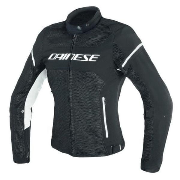 Dainese bunda dámská AIR-FRAME D1 LADY TEX vel.46 černá/bílá, textilní