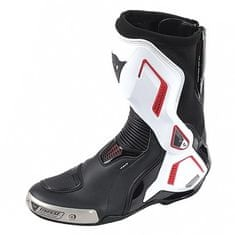 Dainese sportovní moto boty  TORQUE D1 AIR černá/bílá/červená (lava)