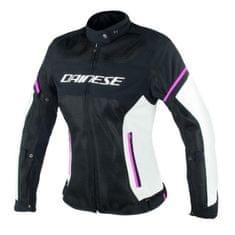 Dainese dámska letná moto bunda  AIR-FRAME D1 LADY TEX čierna/sivá/ružová, textilné