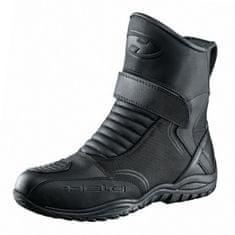 Held motocyklové topánky ANDAMOS vel.45 čierna, PU-koža/textil, Hipora (pár)