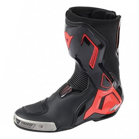 Dainese boty TORQUE D1 OUT vel.40 černá/fluo červená (pár)