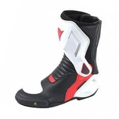 Dainese moto boty  NEXUS černá/bílá/červená (lávová)