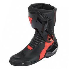 53b3c68569b Dainese moto boty NEXUS černá fluo červená