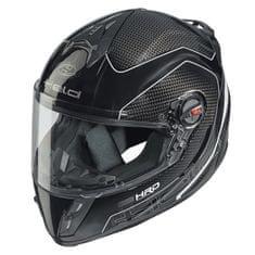 Held dětská motocyklová přilba  SCARD Design Carbon (černá/bílá)