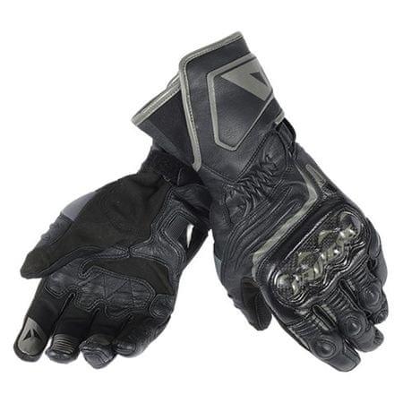 Dainese dámske šport moto rukavice  CARBON D1 LONG LADY vel.L čierna, koža (pár)