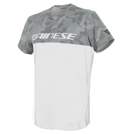 Dainese pánské triko CAMO-TRACKS vel.L bílá/antracit