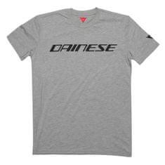 Dainese pánské triko s krátkým rukávem DAINESE šedá