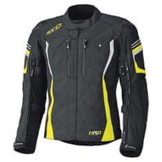 Held pánska moto bunda  LUCA Gore-Tex čierna/fluo žltá