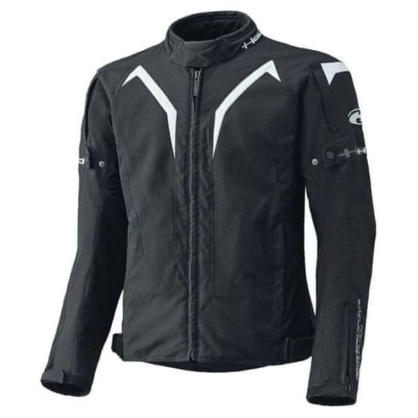 Held bunda ZELDA vel.XXL černá/bílá, textilní, letní