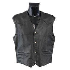 Held pánská motocyklová vesta  DILLON, černá, kůže