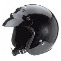 Held motocyklová přilba  RUNE černá lesklá