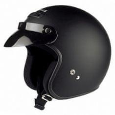 Held motocyklová helma  RUNE, matná černá