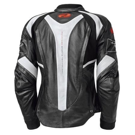 Held dámska kožená bunda na motorku Namik vel.38 čierna biela  6a285dc91d3