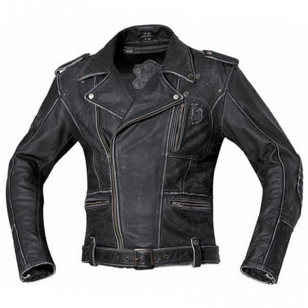 Held pánská bunda HOT ROAD vel.48 černá kůže