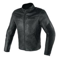 Dainese pánska kožená moto bunda  STRIPES D1 čierna