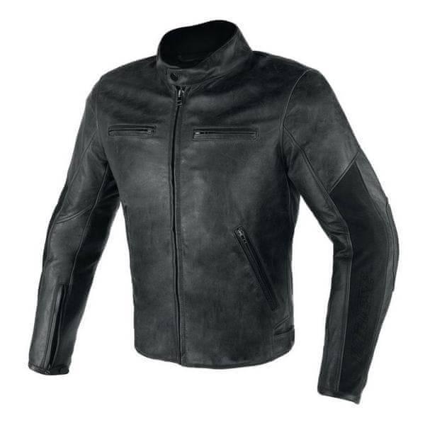 Dainese bunda STRIPES D1 vel.58 černá, kůže