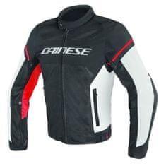 Dainese pánska motocyklová bunda  AIR-FRAME D1 TEX čierna/biela/červená