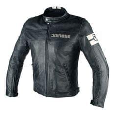 Dainese pánska kožená moto bunda  HF D1 čierna/sivá