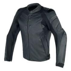 Dainese pánska kožená moto bunda  FIGHTER čierna