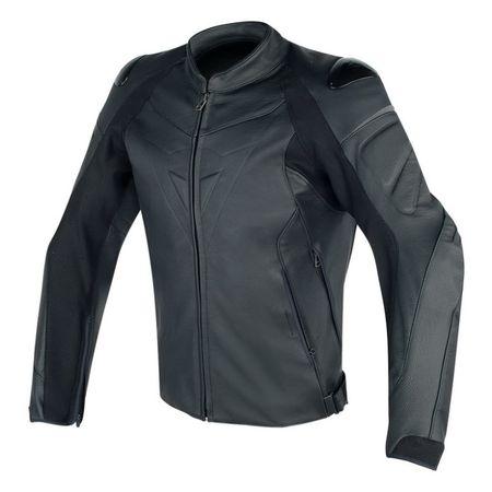 Dainese pánska kožená moto bunda  FIGHTER vel.56 čierna