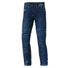 Held pánské moto kevlarové jeans  BARRIER (délka 34) modré