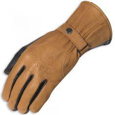 Held kožené rukavice  CLASSIC hnědé, kůže (pár)