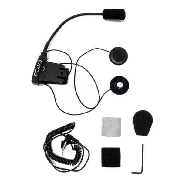 Cardo základna pro otevřené přilby pro Cardo SCALA RIDER SOLO / Q2 / FM / TEAMSET Pro (1ks)