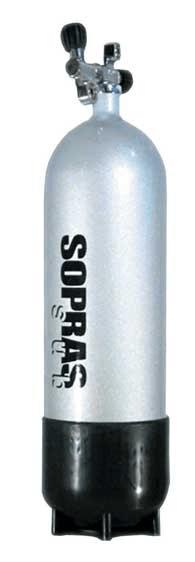 SOPRASSUB Lahev 12 L 232 bar, prům.171 mm, vč. botky