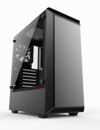 ohišje Phanteks Eclipse P300 USB ATX, črno, kaljeno steklo