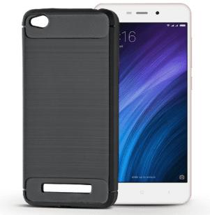 Forcell karbonski etui za Xiaomi redmi 4A, črn