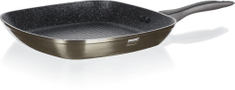 Banquet steak ponev Metallic Platinum, 28 cm