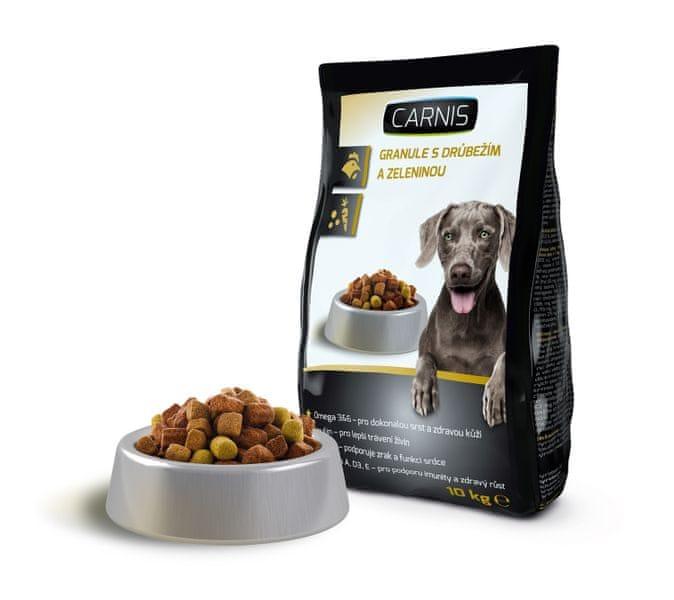 Carnis Granule pro psy drůbeží 10kg