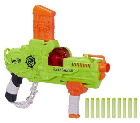 NERF pistolet dziecięcy ZOMBIE Revreaper