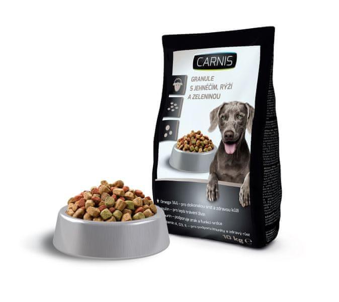 Carnis Granule pro psy jehněčí 10kg