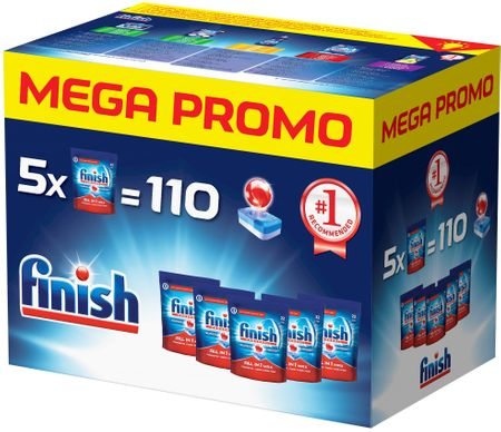 Finish All in1 Max Mega Box 110 ks