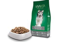 Vivavita karma dla aktywnych psów, 15kg