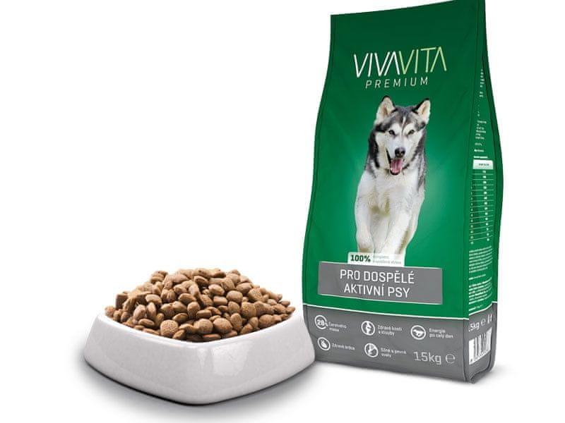 Vivavita Granule pro aktivní psy 15kg