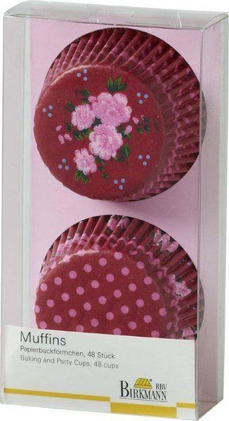 Birkmann Košíčky na muffiny LA VIE EN ROSE