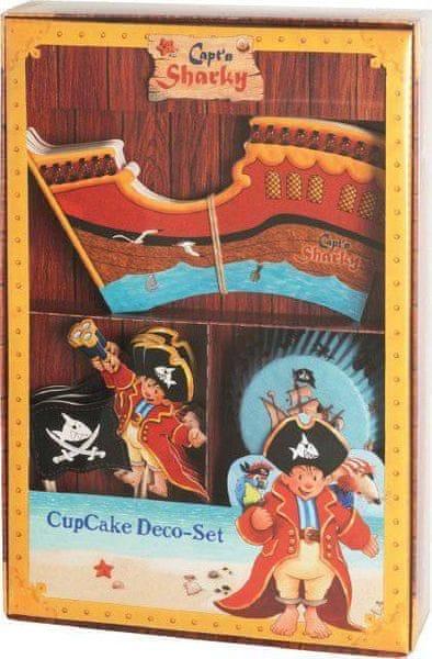 Birkmann Sada na zdobení muffinů – kapitán Žralok