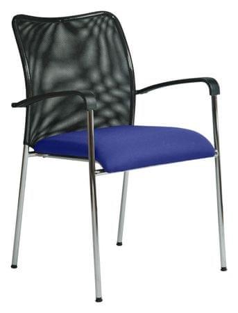 Antares Konferenční židle Spider modrá
