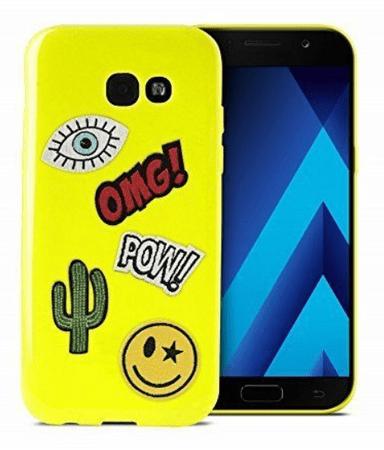 Puro ovitek Patch mania za Galaxy A5, zelen