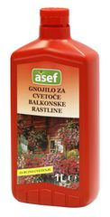 Asef Asef tekoče mineralno gnojilo za balkonske rastline, 1000 ml