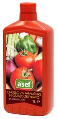 Asef Asef tekoče mineralno gnojilo za paradižnike in zelenjavo, 1000 ml