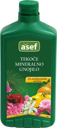Asef Asef tekoče mineralno gnojilo za mediteranske rastline, 1000 ml