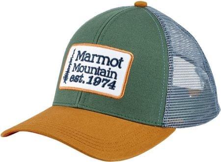 Marmot kapa Retro Trucker, zelena/siva