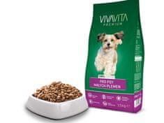 Vivavita Granulátum kis termetű felnőtt kutyáknak 15 kg