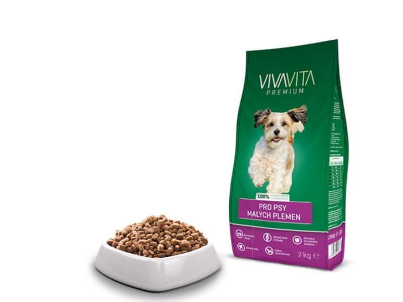 Vivavita Granule pro dospělé psy malých plemen 7kg